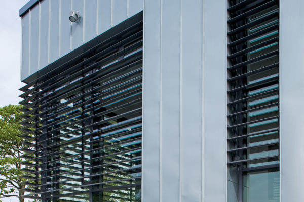 residentiele structurele zonwering